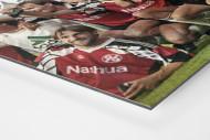 Hannoverscher Pokaljubel als auf Alu-Dibond kaschierter Fotoabzug (Detail)