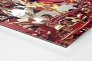 Liverpool Fans 1977 (2) als auf Alu-Dibond kaschierter Fotoabzug (Detail)