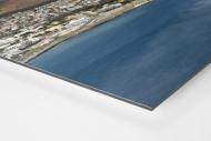 Cape Town Stadium vom Wasser aus als auf Alu-Dibond kaschierter Fotoabzug (Detail)
