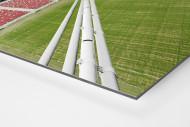 Nationalstadion Warschau von oben als auf Alu-Dibond kaschierter Fotoabzug (Detail)