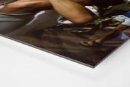 Klinsi trägt Rudi als auf Alu-Dibond kaschierter Fotoabzug (Detail)