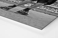Atlético Mineiro Fan At The Stand als auf Alu-Dibond kaschierter Fotoabzug (Detail)
