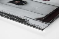 Oldschool Scoreboard als auf Alu-Dibond kaschierter Fotoabzug (Detail)