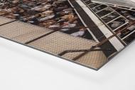 Terraces Full Of Supporters als auf Alu-Dibond kaschierter Fotoabzug (Detail)