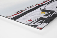 Big Flag And Fans als auf Alu-Dibond kaschierter Fotoabzug (Detail)