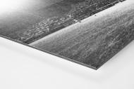 Flutlicht und Regen als auf Alu-Dibond kaschierter Fotoabzug (Detail)