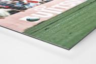 Übersteiger zum Klassenerhalt als auf Alu-Dibond kaschierter Fotoabzug (Detail)