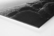 Nebel im Olympiastadion als auf Alu-Dibond kaschierter Fotoabzug (Detail)