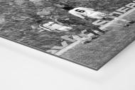 Schneesturm als auf Alu-Dibond kaschierter Fotoabzug (Detail)