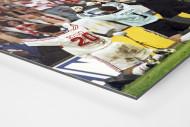 Stuttgarter Pokaljubel  als auf Alu-Dibond kaschierter Fotoabzug (Detail)