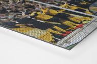 Dresden jubelt im Pokal als auf Alu-Dibond kaschierter Fotoabzug (Detail)