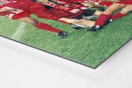 Lauterer Pokaljubel 1996 als auf Alu-Dibond kaschierter Fotoabzug (Detail)