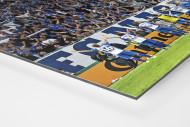 Magdeburg jubelt im Pokal als auf Alu-Dibond kaschierter Fotoabzug (Detail)