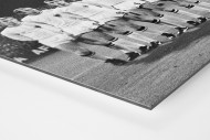 Mönchengladbach 1969 als auf Alu-Dibond kaschierter Fotoabzug (Detail)