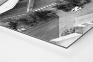 Wilhelm-Koch-Stadion als auf Alu-Dibond kaschierter Fotoabzug (Detail)