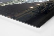 Millerntor bei Flutlicht (Farbe-1) als auf Alu-Dibond kaschierter Fotoabzug (Detail)