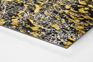 Gelbe Wand - Farbe (1) als auf Alu-Dibond kaschierter Fotoabzug (Detail)