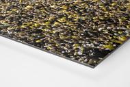 Gelbe Wand - Farbe (2) als auf Alu-Dibond kaschierter Fotoabzug (Detail)