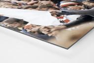 Union Fans als auf Alu-Dibond kaschierter Fotoabzug (Detail)