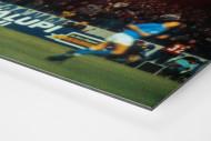 Napoli Fans als auf Alu-Dibond kaschierter Fotoabzug (Detail)