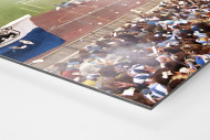 Stadion an der Grünwalder Straße (1990) als auf Alu-Dibond kaschierter Fotoabzug (Detail)