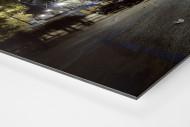 Stadio San Paolo bei Flutlicht (Farbe) als auf Alu-Dibond kaschierter Fotoabzug (Detail)
