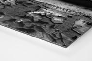 Der isolierte Torwart als auf Alu-Dibond kaschierter Fotoabzug (Detail)