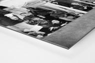Momentaufnahme Highbury 1969 als auf Alu-Dibond kaschierter Fotoabzug (Detail)