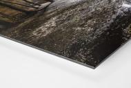 Draußen vor der Alten Försterei als auf Alu-Dibond kaschierter Fotoabzug (Detail)