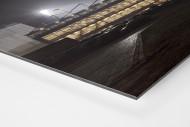 Millerntor bei Flutlicht (Farbe-2) als auf Alu-Dibond kaschierter Fotoabzug (Detail)
