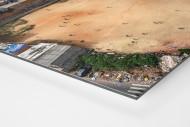Fußballplatz in São Paulo als auf Alu-Dibond kaschierter Fotoabzug (Detail)