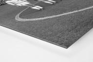 M'gladbach im »Rote Erde« als auf Alu-Dibond kaschierter Fotoabzug (Detail)