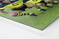 BVB im Olympiastadion als auf Alu-Dibond kaschierter Fotoabzug (Detail)