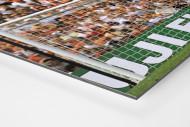 Bonner vor holländischen Fans als auf Alu-Dibond kaschierter Fotoabzug (Detail)