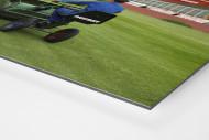 Greenkeeper im Volksparkstadion 1997 als auf Alu-Dibond kaschierter Fotoabzug (Detail)