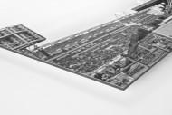 Jubel draußen am Millerntor als auf Alu-Dibond kaschierter Fotoabzug (Detail)