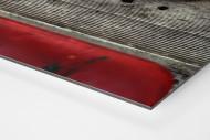 Sitzschalen als auf Alu-Dibond kaschierter Fotoabzug (Detail)