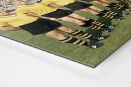 BVB im Neckarstadion als auf Alu-Dibond kaschierter Fotoabzug (Detail)