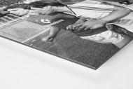 Friedhelm und der Pokal als auf Alu-Dibond kaschierter Fotoabzug (Detail)