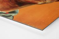 Jupp Heynckes  als auf Alu-Dibond kaschierter Fotoabzug (Detail)