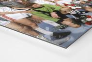 Kölner Pokaljubel als auf Alu-Dibond kaschierter Fotoabzug (Detail)