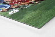 München im Waldstadion als auf Alu-Dibond kaschierter Fotoabzug (Detail)