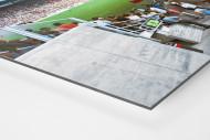 Westfalenstadion 1974 als auf Alu-Dibond kaschierter Fotoabzug (Detail)
