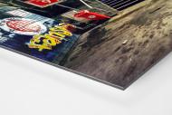 Millerntor Block 9-10 als auf Alu-Dibond kaschierter Fotoabzug (Detail)