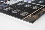 Ausrüstung LSU Tigers als auf Alu-Dibond kaschierter Fotoabzug (Detail)