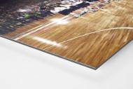 Standing Ovations für die Handballer als auf Alu-Dibond kaschierter Fotoabzug (Detail)