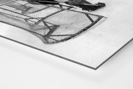 Eishockeytraining in der Wembley Arena als auf Alu-Dibond kaschierter Fotoabzug (Detail)