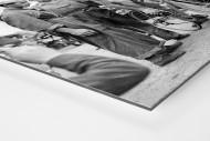 Vor der 7. Etappe bei der Tour 1951 als auf Alu-Dibond kaschierter Fotoabzug (Detail)