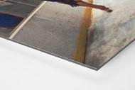 """Jubel nach dem """"Miracle On Ice"""" als auf Alu-Dibond kaschierter Fotoabzug (Detail)"""