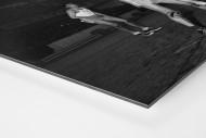 Basketball in Paris als auf Alu-Dibond kaschierter Fotoabzug (Detail)